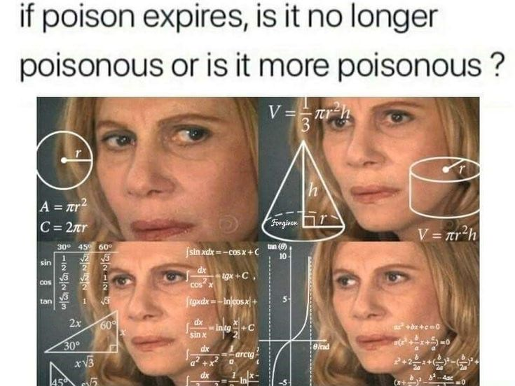 if poison expires, is it no longer poisonous or is it more poisonous? - I have had this exact conversation with others.