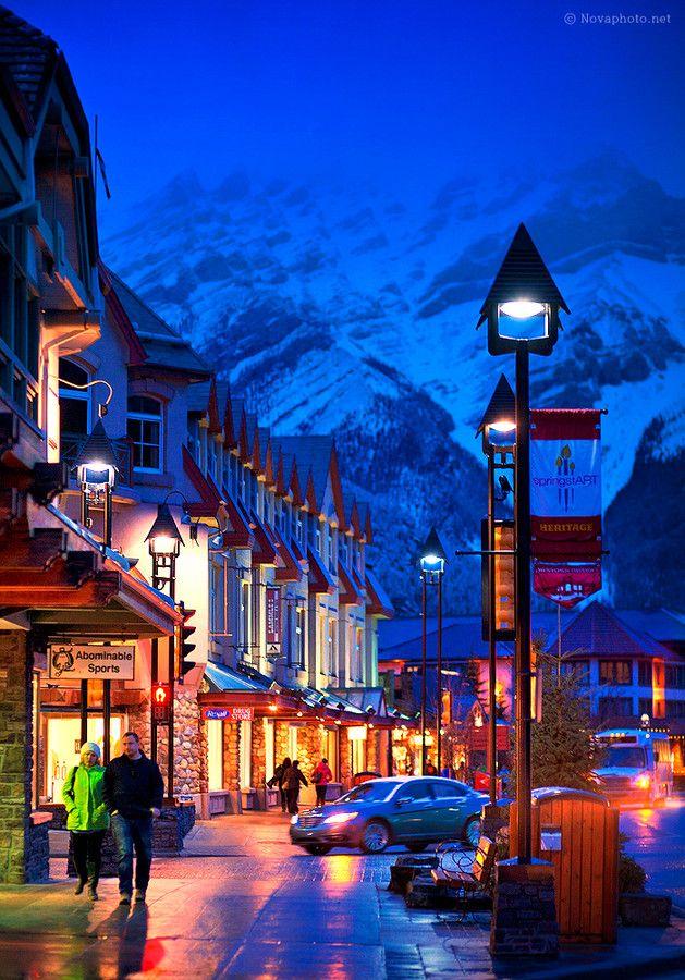 Banff by Sungbin Park on 500px ~ Banff, Alberta, Canada.