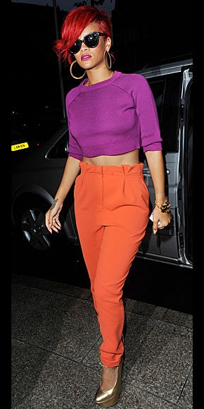 For the love of color blocking. ♥