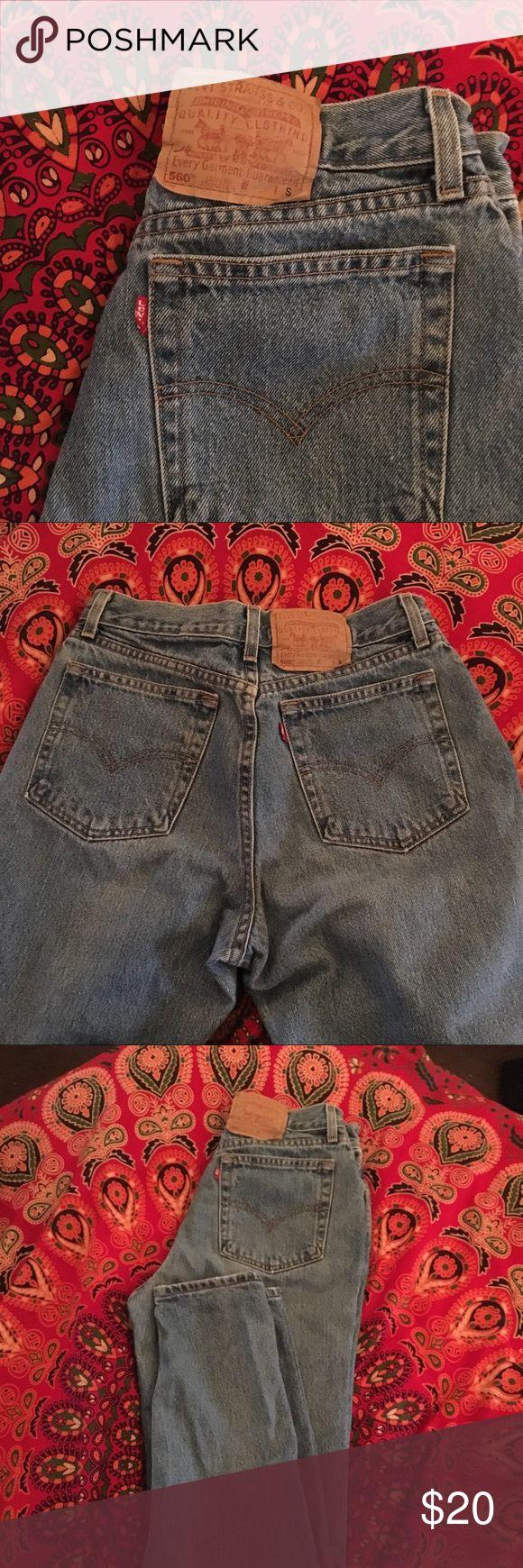 • Levi Denim Jeans • Levi's 560 • loose fit • straight leg • Levi's Jeans Straight Leg