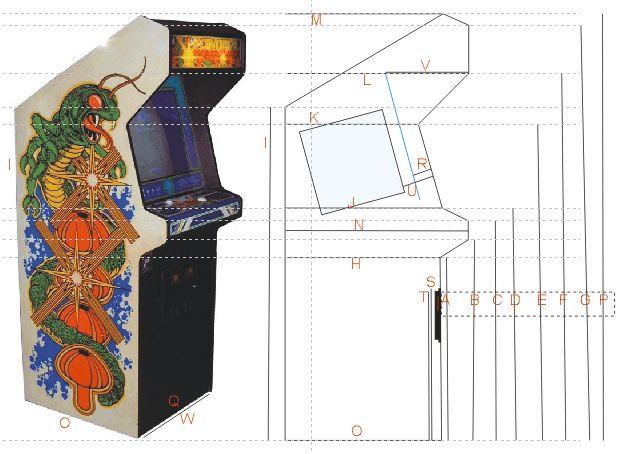 16 best eit museum dinosaur kiosk images on pinterest gazebo arcade plans huge list centipede dimensions arcade machinearcade games cabinet malvernweather Images