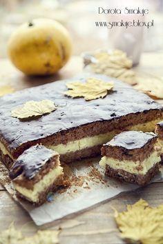 ciasto dyniowe z kremem karpatka