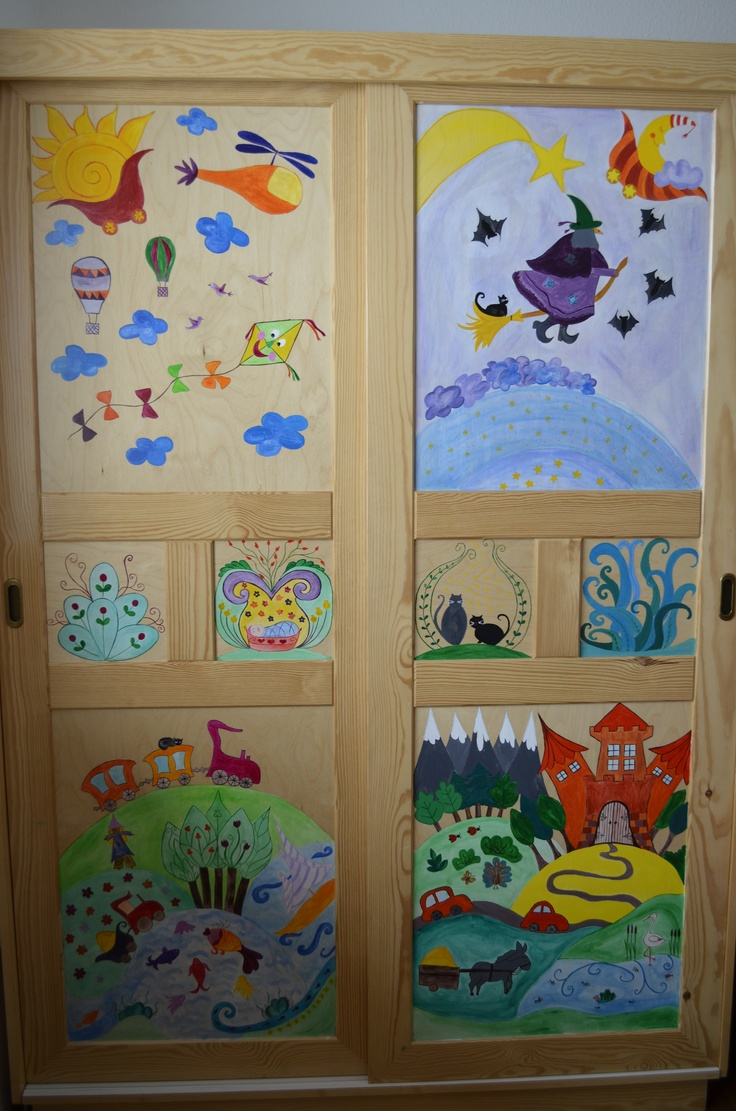 DIY furniture painting for the kids 1.