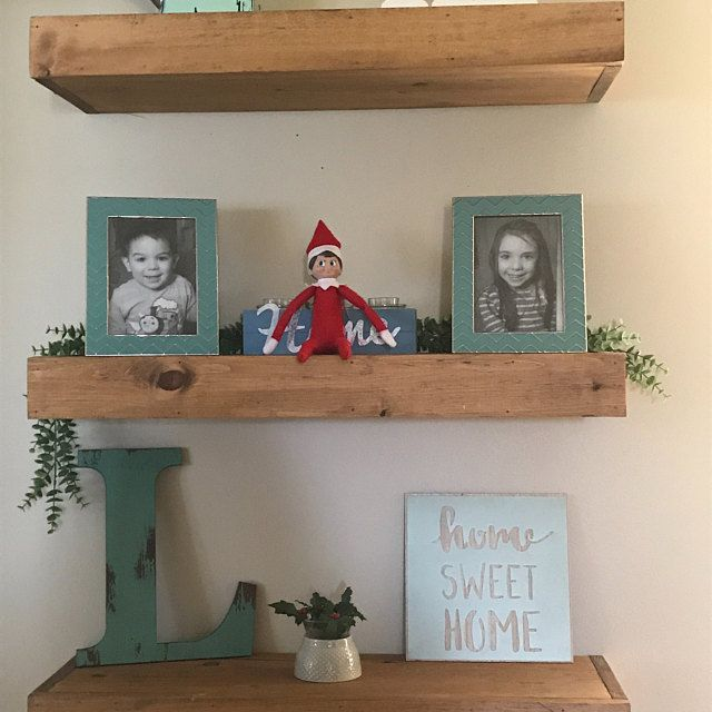 Wood Floating Shelves 12 Inches Deep Rustic Shelf Farmhouse Shelf Reclaimed Wood Floating Shelf Handmade Shelf Wood Wall Shelf Wood Floating Shelves Floating Shelves Rustic Shelves