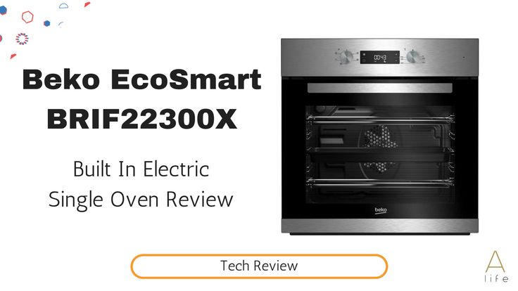 Video review of our new oven Beko EcoSmart BRIF22300X, built-in single oven. Super recommend it.