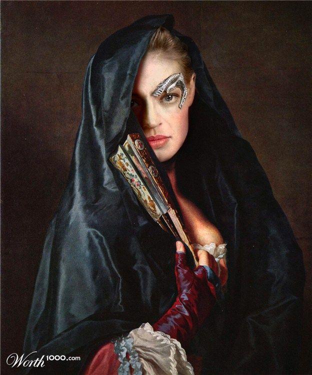 STARFLEET INTELLIGENCE FILE: Annika Hansen, former Borg designation Seven of Nine, Tertiary Adjunct of Unimatrix Zero-One; Portrait as Spanish Madam; 1813