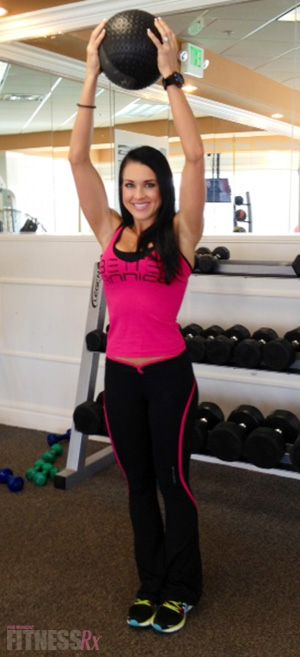 Fit Fast Workout 7: Medicine Ball Workout. Fat Blasting, 25-minutes, Do It Anywhere!