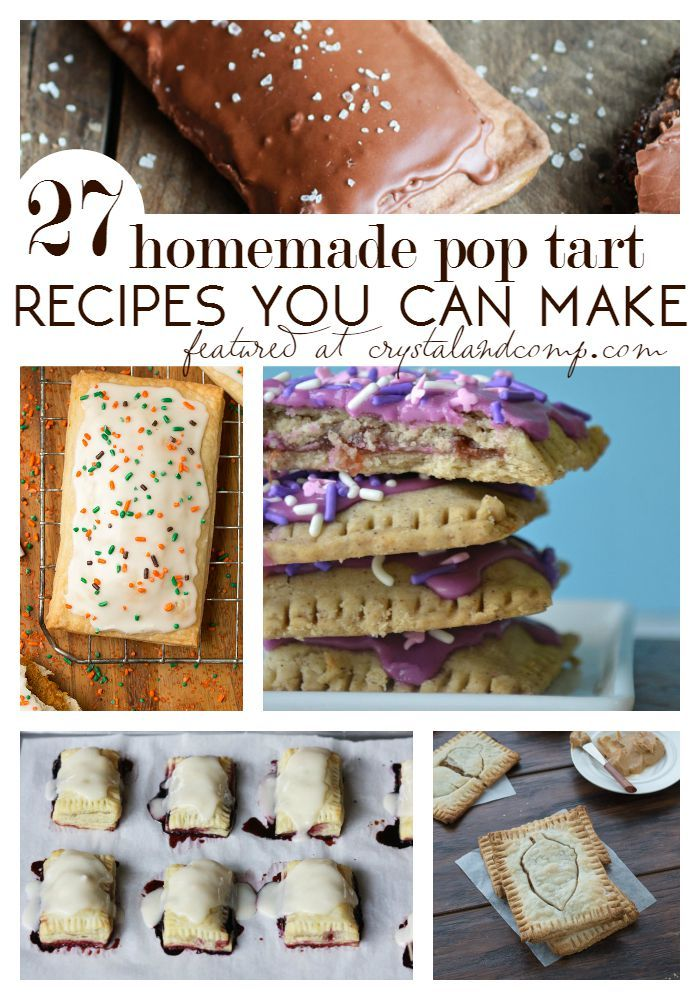 27 Homemade Pop Tart Recipes You Can Make