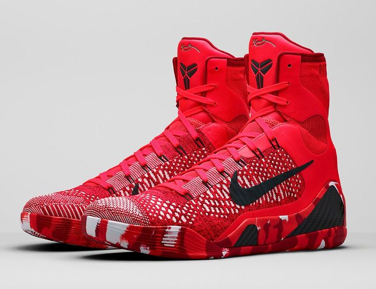 Official images of the Nike Kobe 9 Elite Knit Stocking is showcased, which is part of Nike Basketball's 2014 Christmas Collection.
