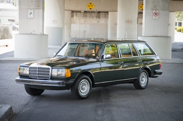 1979 300TD Diesel Station Wagon.  Since I'm not a purist, I could see a nice set of rims on this.