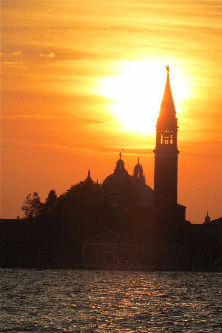 Sunset over San Marco