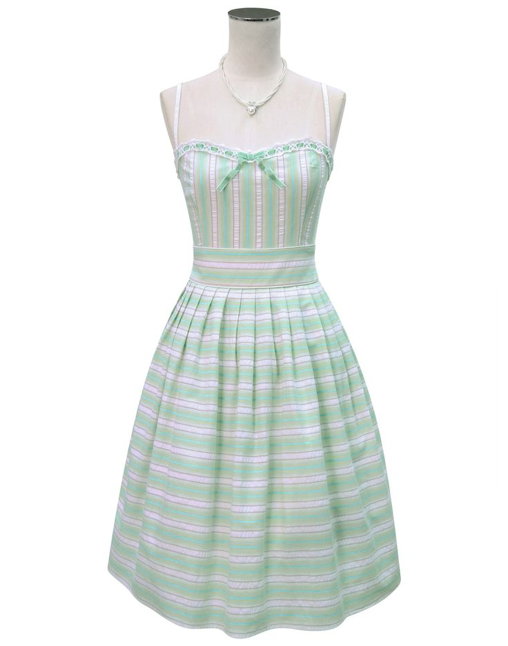 The Gigi Dress (Mint) They don't have a pic of the pink, but it's