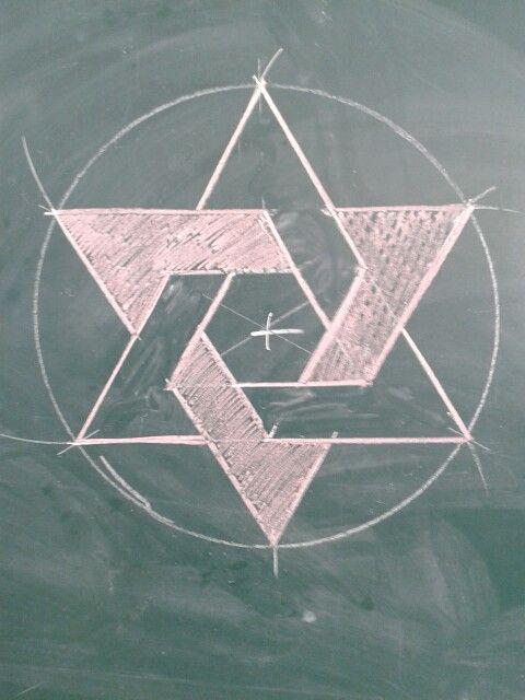 Estrella de seis puntas geometria arte pinterest la - Figuras geometricas imposibles ...