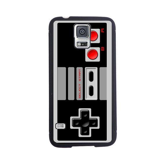 Nintendo contrôleur inspiré affaire pour le Samsung Galaxy S4, S5, S6 ou S6 Edge.