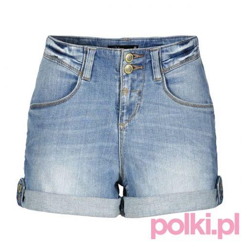 Dżinsowe szorty, C&A #polkipl #colours #fashion #moda #stylizacje
