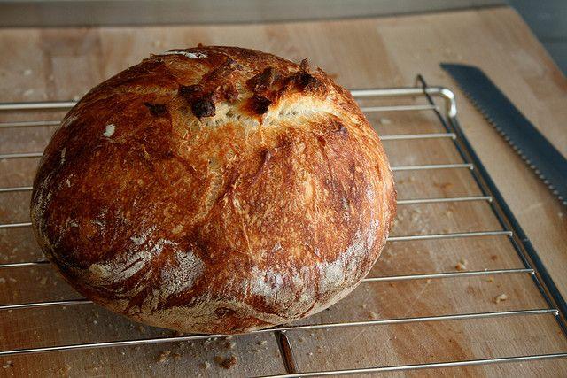 Het makkelijkste brood dat je ooit zal maken - beloven ze bij culy... Misschien toch eens proberen?