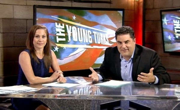 The Young Turks - one of the BEST online news sources  -   everyone should watch!!!!!    Outsiders crashing the party, forcing others to take them seriously: with both Bernie Sanders and Donald Trump running away with the New...