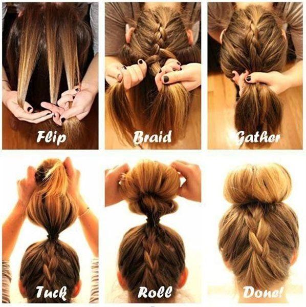 #penteado #menina #festa #casamento #tutorial #passoapasso #aprender Hair Tutorial, very cute Check out Dieting Digest