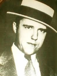 """""""Alvin Karpis"""" (1907 - 1979) One-time FBI """"Public Enemy No. 1"""", member of the Barker Gang during the 1930s, he served more time in Alcatraz prison than any other inmate (over 25 years)"""