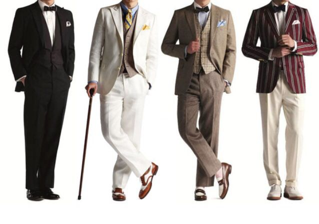 The great gatsby outfits1920 S, The Great Gatsby, Brooks Brothers, Theme Parties, Gatsby Parties, Men Fashion, 1920S, Men Wear, Art Deco