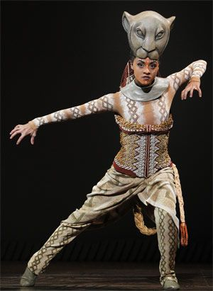 Lion King costume by Julie Taymor.