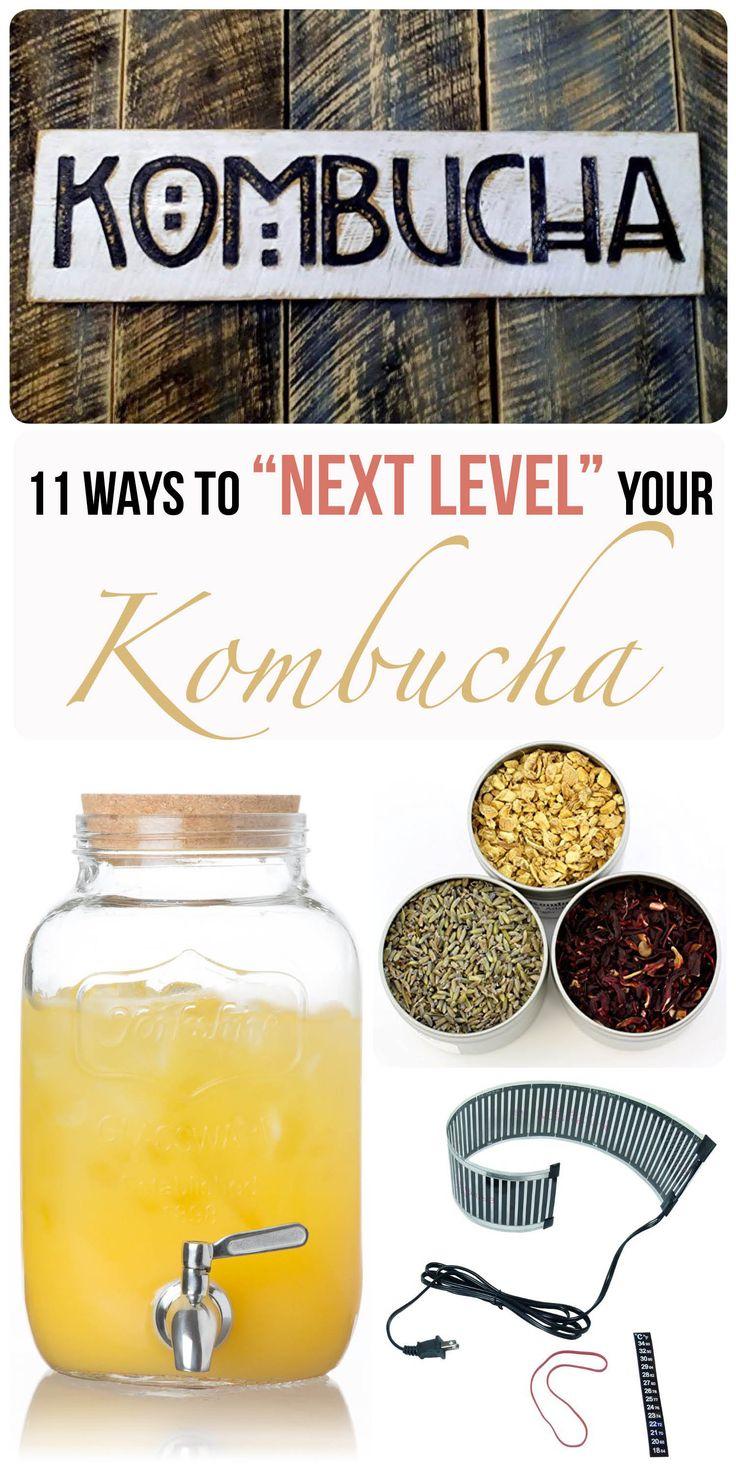 11 items that turn your regular kombucha setup into a near professional one!
