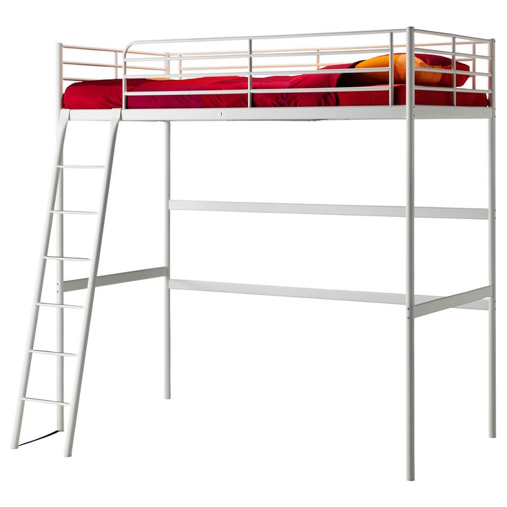 troms struttura per letto a soppalco 140x200 cm ikea. Black Bedroom Furniture Sets. Home Design Ideas