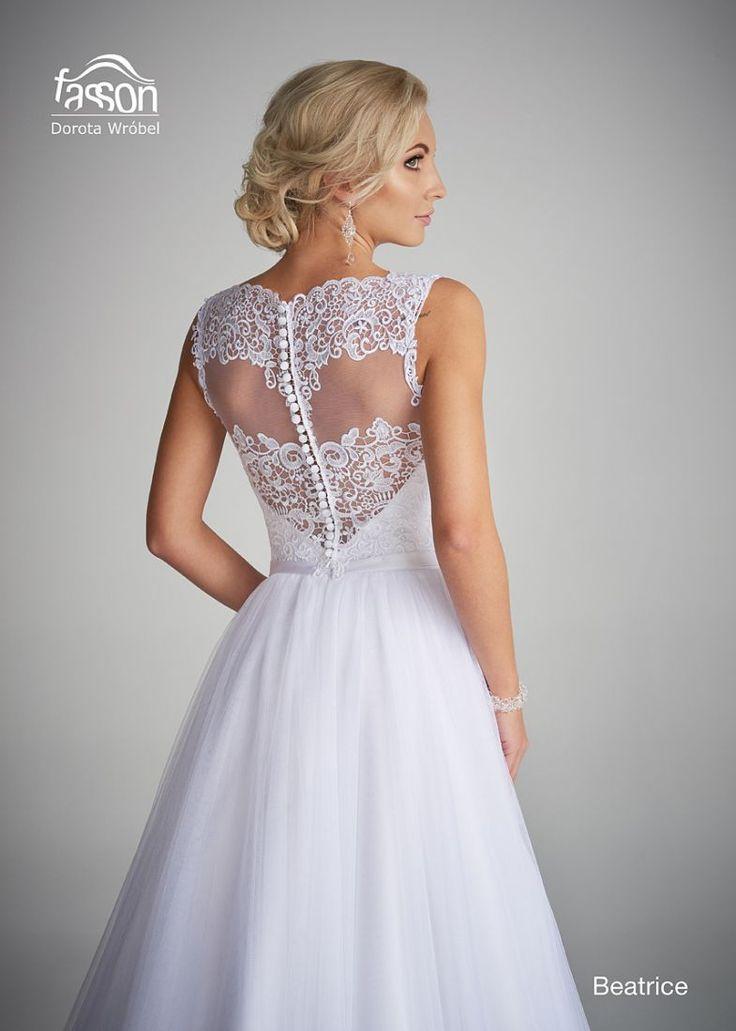 Beatrice tył suknia ślubna