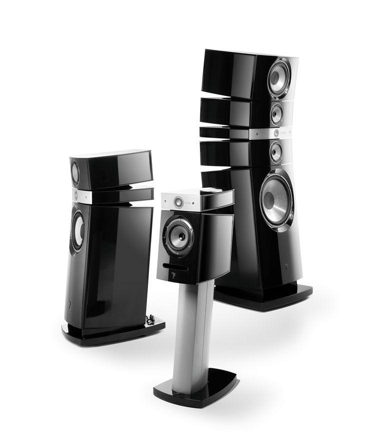 Focal / Utopia | Francuska firma oferuje szeroki asortyment produktów: od podstawowych serii Chorus, Electra aż po linię Utopia, prezentującą najdoskonalsze rozwiązania w dziedzinie zestawów głośnikowych. W każdej serii znajdziemy głośniki frontowe, centralne, efektowe i subwoofery pozwalające skomponować zestaw do kina domowego.