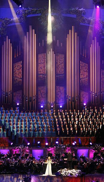Tabernacle Choir, Orchestra Concert Features Laura Osnes, Martin Jarvis - Church News and Events