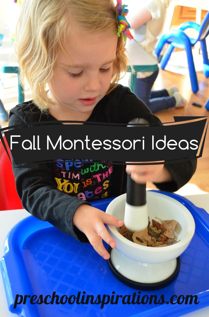 Fall Montessori Ideas by Preschool Inspirations