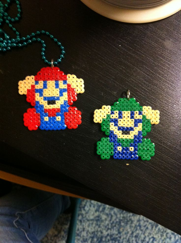 Game over Mario & Luigi hama beads