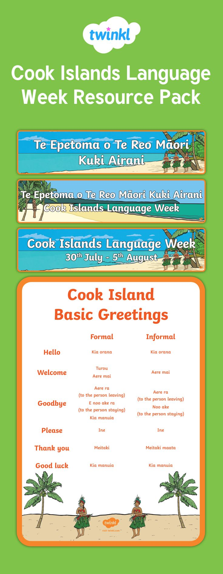 8 best cook island language week images on pinterest cook islands cook island language week m4hsunfo