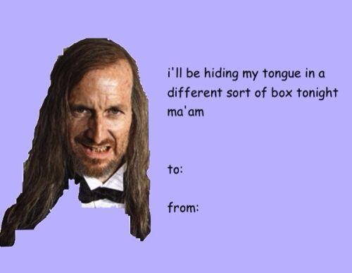 AHS Valentine's Day card lol