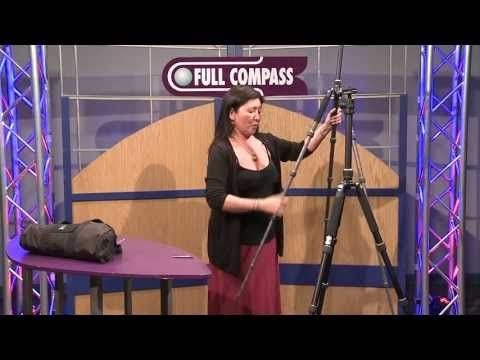 Giottos VGR9265 Tripod/Monopod, Classic Series 5-section Aluminum - Overview | Full Compass - YouTube