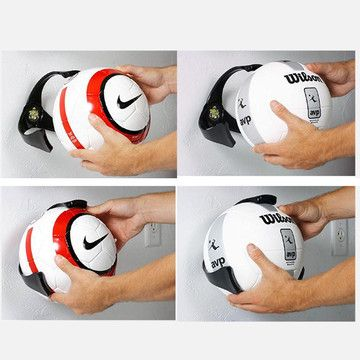 well thats a nifty idea would be great in the garage or if you had volleyball bedroomsoccer - Volleyball Bedroom Decor