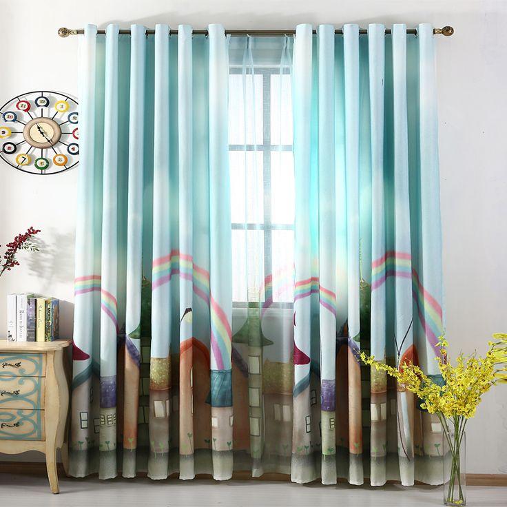 best 3d scenery blackout curtains online