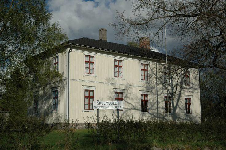 SKOLMUSEET Svedbergs skola. Munsala, Österbotten - Ostrobothnia province of Western Finland.- Pohjanmaa -