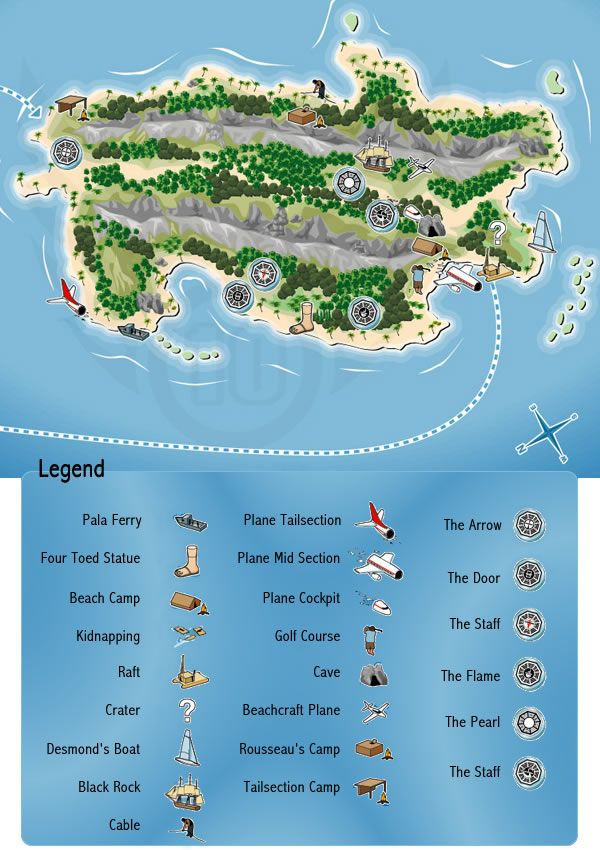 The Island. Will definitely need this the next time I watch Lost!