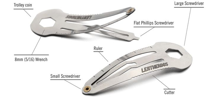 A Multi-Function Clip That Hides a Toolbox In Your Hair