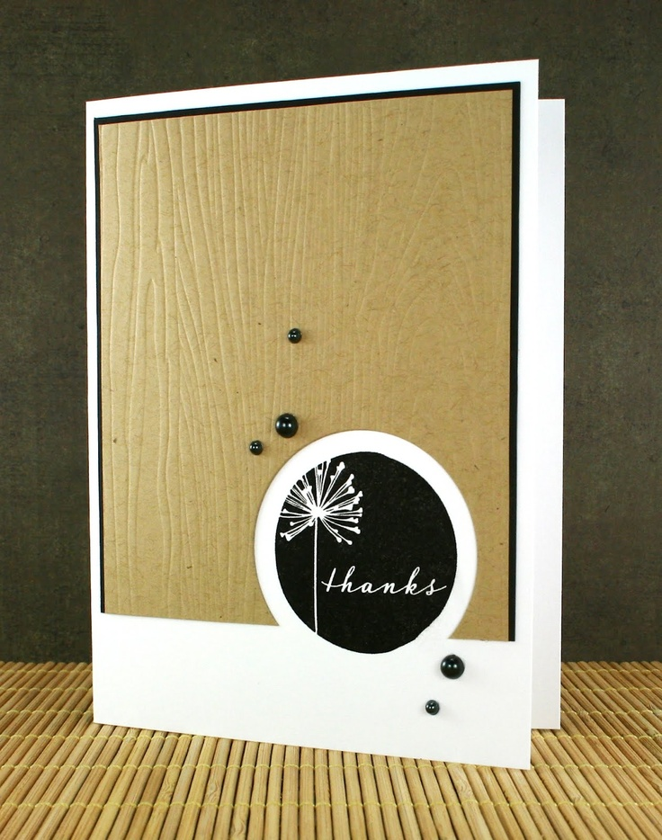 INKlinations: a card a day in may - 5/27: THANKS  -- would be a nice way to use tag stamps