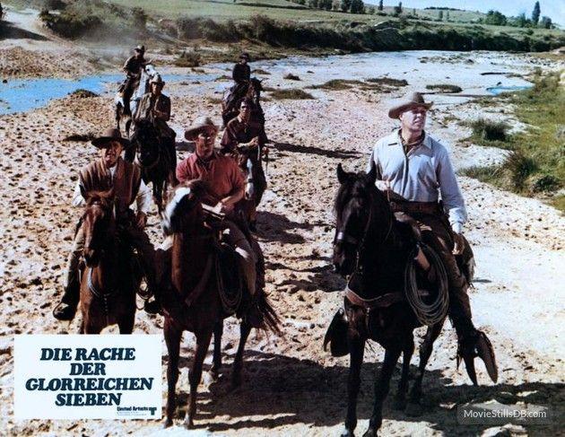 Guns of the Magnificent Seven - Lobby card with Joe Don Baker, George Kennedy, James Whitmore, Reni Santoni, Bernie Casey, Monte Markham & Scott Thomas