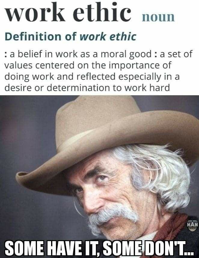 Pin By Grimm On Memes Beliefs Work Ethic Work Hard