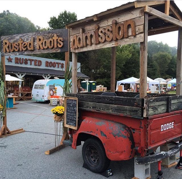 'Derby' makes her debut at Rusted Roots Junk Market