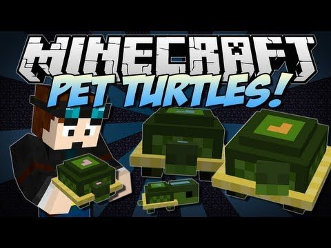 Minecraft | PET MOBS MOD! | Befriend Endermen, Zombies, Magma Cubes & More! [1.4.7] - YouTube