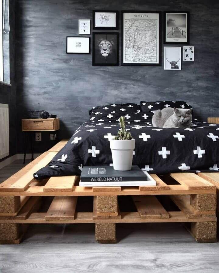 100 DIY Recycled Pallet Bed Frame Designs