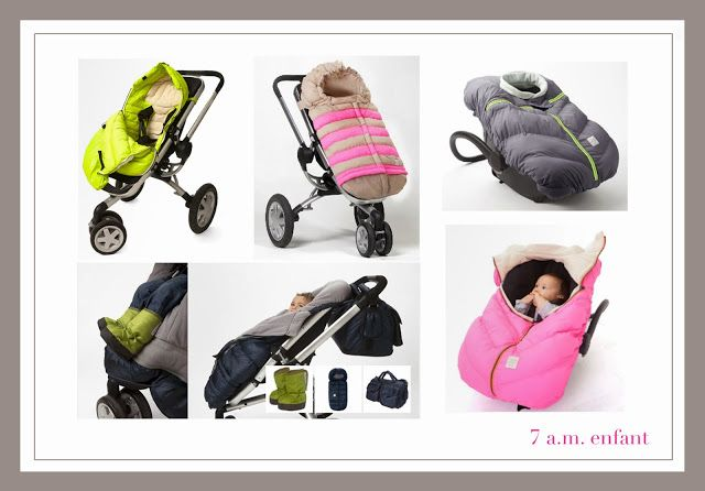 @7AM enfant gear up for the winter with an amazing collection of universal footmuffs for car seats and buggies/strollers