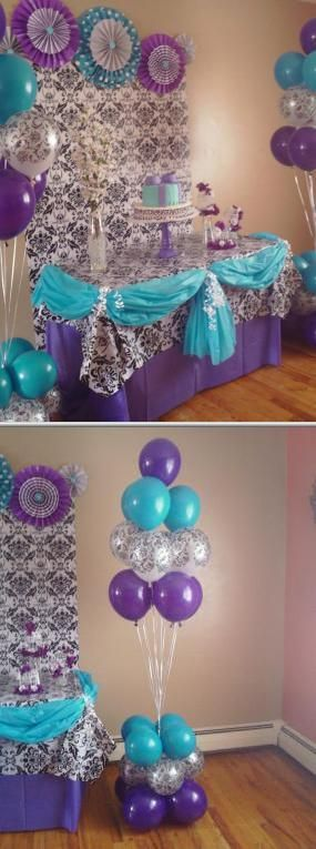 This company offers wedding decorations such as balloon arches, columns, centerpieces and bouquets. They are also available for children's parties, first communions, graduations, baby showers and more.