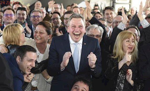 Drtivé vítězství. V Sársku CDU podle odhadů jasně vyhrála před SPD