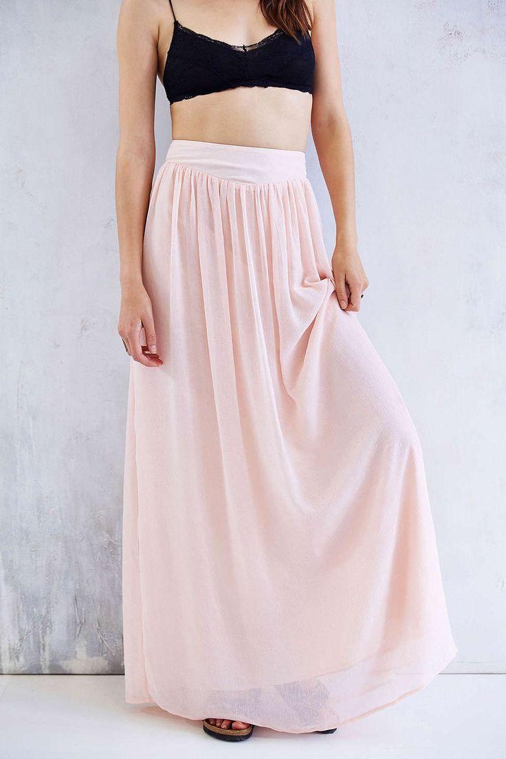Pins And Needles Yoke Chiffon Maxi Skirt - 252 Best Bridesmaids Images On Pinterest Bridesmaids, Maxi